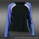 Tail Royal Vibe Raglan Long Sleeve Top-Black