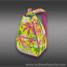 All For Color Island Oasis Backpack Tennis Bag