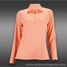 Tail Palmetto Dunes Long Sleeve Top-Papaya