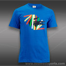Lacoste Croc Graphic T-Shirt-Nattier Blue