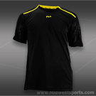 Fila Center Court Crewneck Shirt- Black