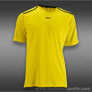 Fila Center Court Crewneck Shirt- Blazing Yellow