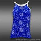 Vickie Brown D Ring Tank-Royal Bandana