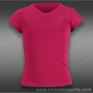 Wilson Girls Short Sleeve V-Neck Top