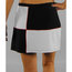 Eliza Audley Color the Court Checker Skirt-Black