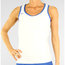Nike Border Strappy Tank - White/Navy Blue