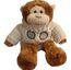 Clarke Plush Tennis Monkey