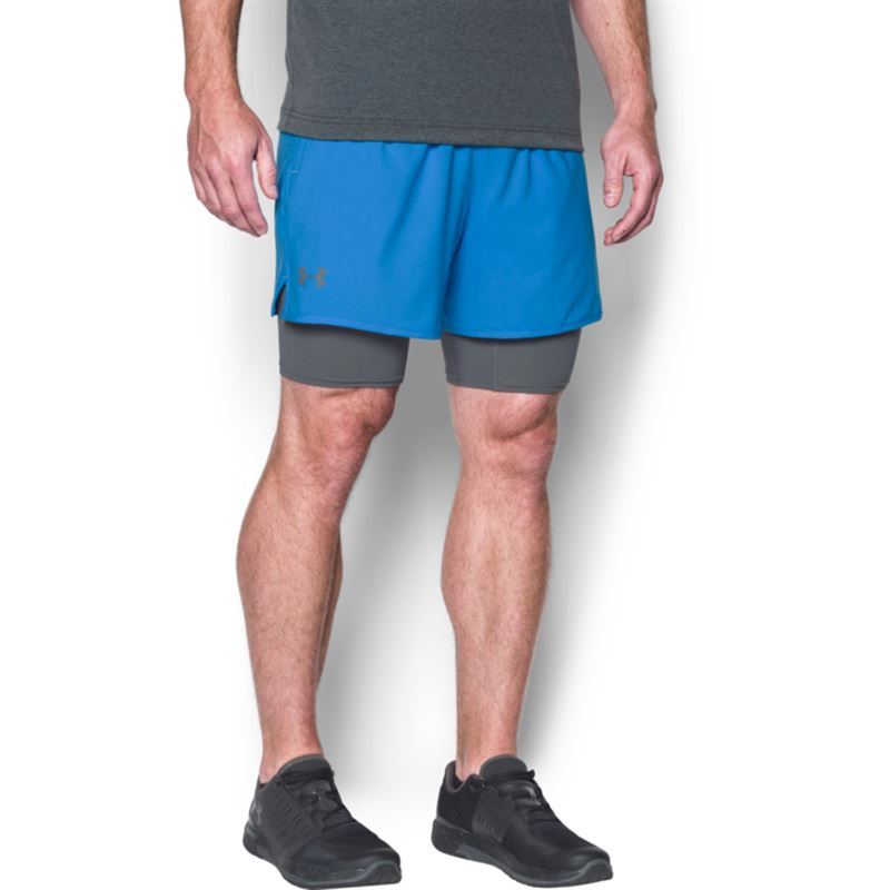 under armour qualifier shorts. under armour qualifier 2 in 1 short shorts