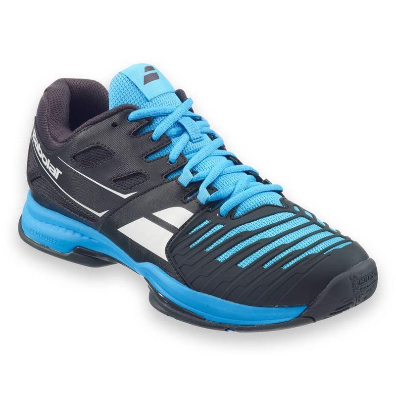 babolat sfx 2 all court mens tennis shoe black blue