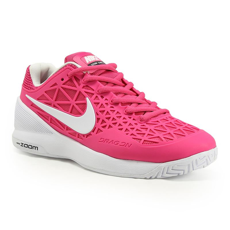 nike zoom cage 2 womens tennis shoe pink black