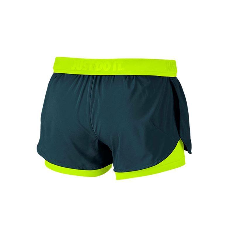 nike shox taille bébé 9 - Nike Full Flex 2 In 1 Short, Midnight Turquoise/Volt, 777488 346 ...