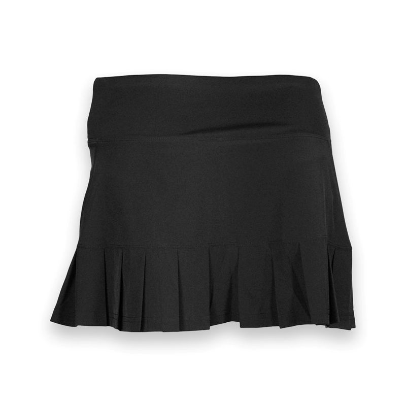 bolle back pleated tennis skirt black 86601000