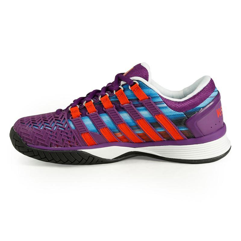 k swiss hypercourt womens tennis shoe purple magic