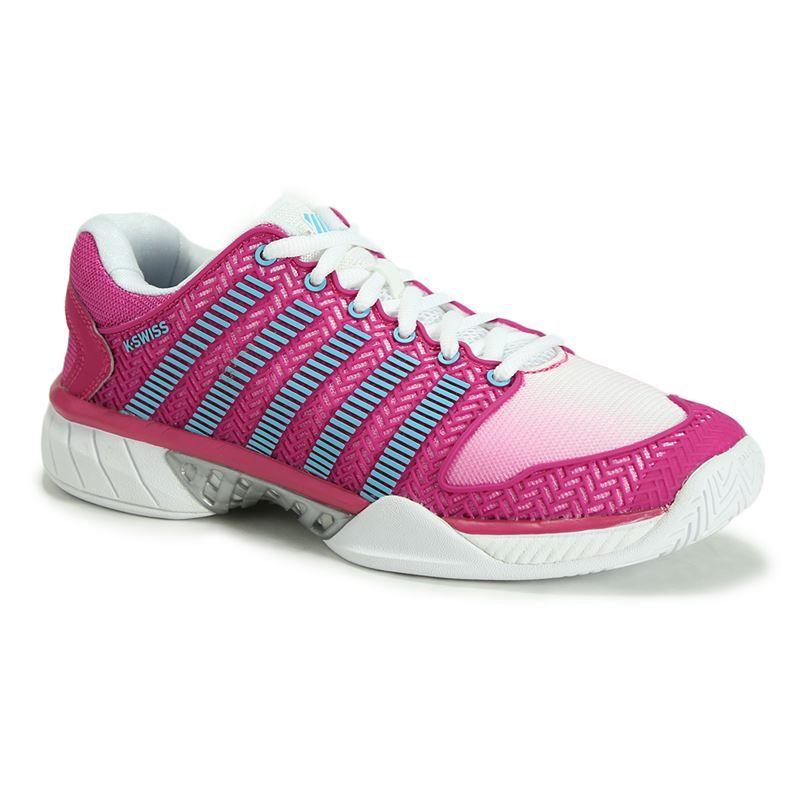 k swiss hypercourt express womens tennis shoe white
