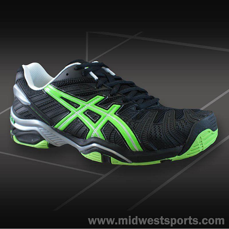 asics gel resolution 4 mens tennis shoes e201n-9070