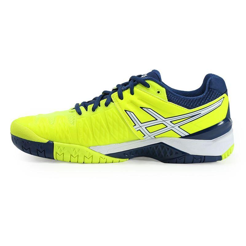 asics gel resolution 6 mens tennis shoe e500y 0701