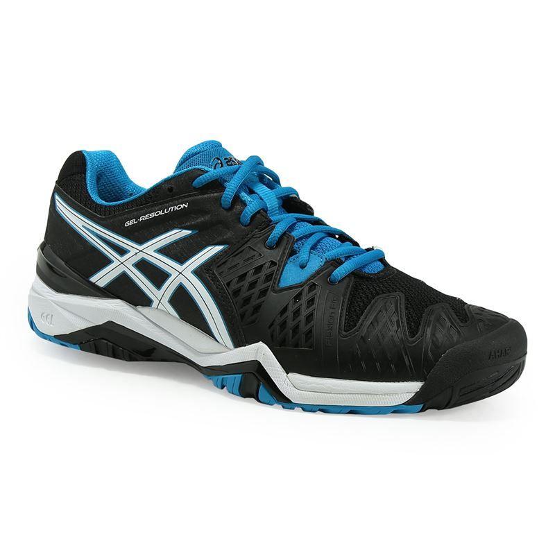asics gel resolution 6 mens tennis shoe e500y 9043