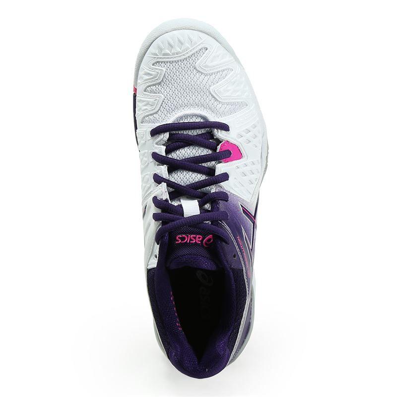 asics gel resolution 6 womens tennis shoe e550y 0133