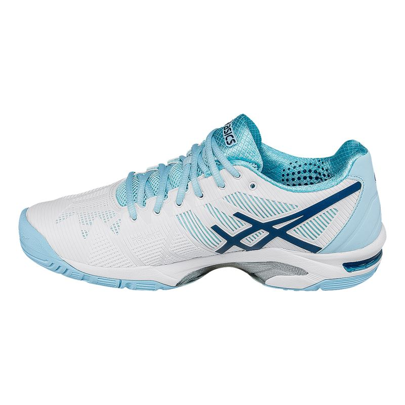 womens asics gel solution tennis shoes