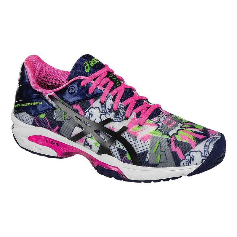 asics gel solution speed 3 nyc womens shoe e668n 0149