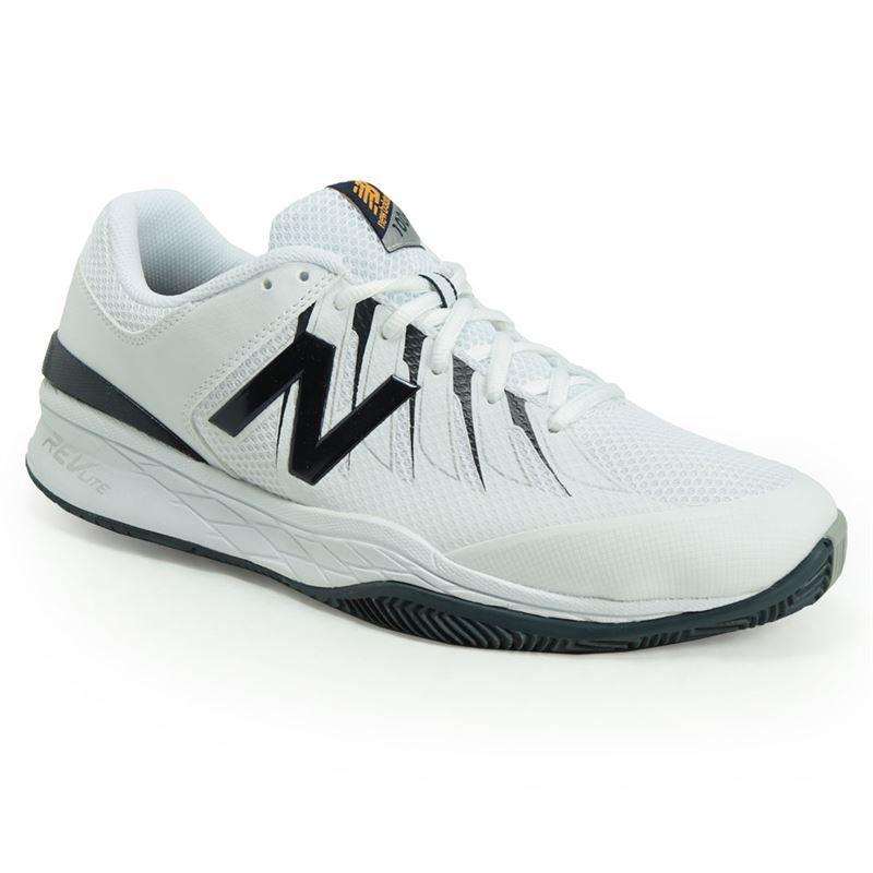 new balance mc1006bw d mens tennis shoe white navy