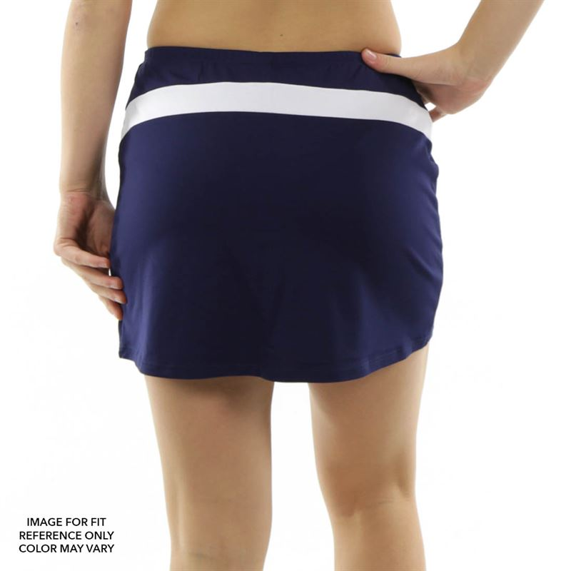 Excellent  Basic Tennis Skirt  Blue  Women39s Tennis Apparel Midwest Tennis
