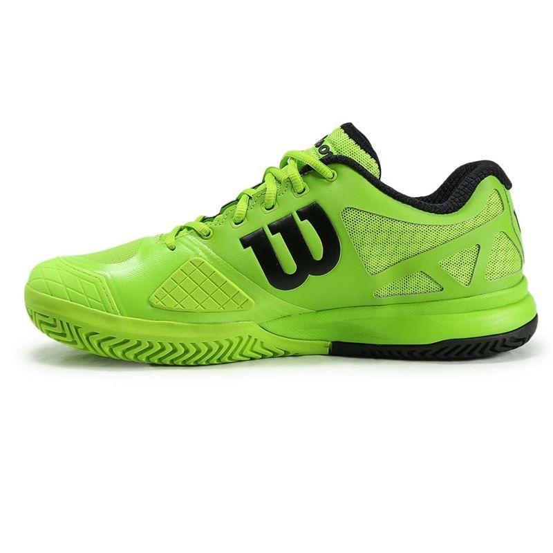wilson pro 2 0 mens tennis shoe green wrs321000