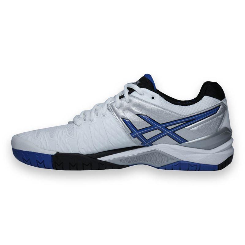 asics gel resolution 6 mens tennis shoe e500y0142 asics