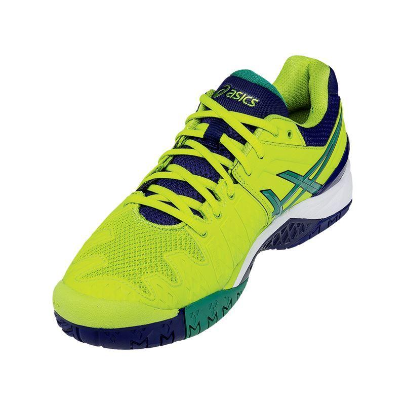 asics gel resolution 6 mens tennis shoe e500y 0588