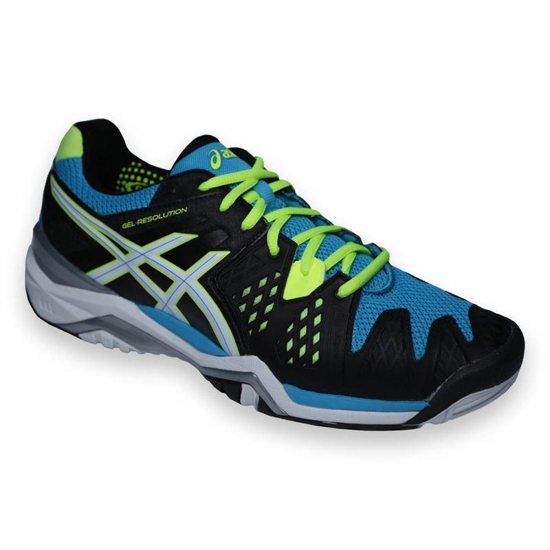 asics gel resolution 6 mens tennis shoe e500y9901 asics