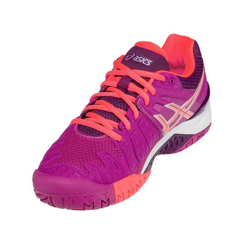 asics gel resolution 6 womens tennis shoe e550y 2106