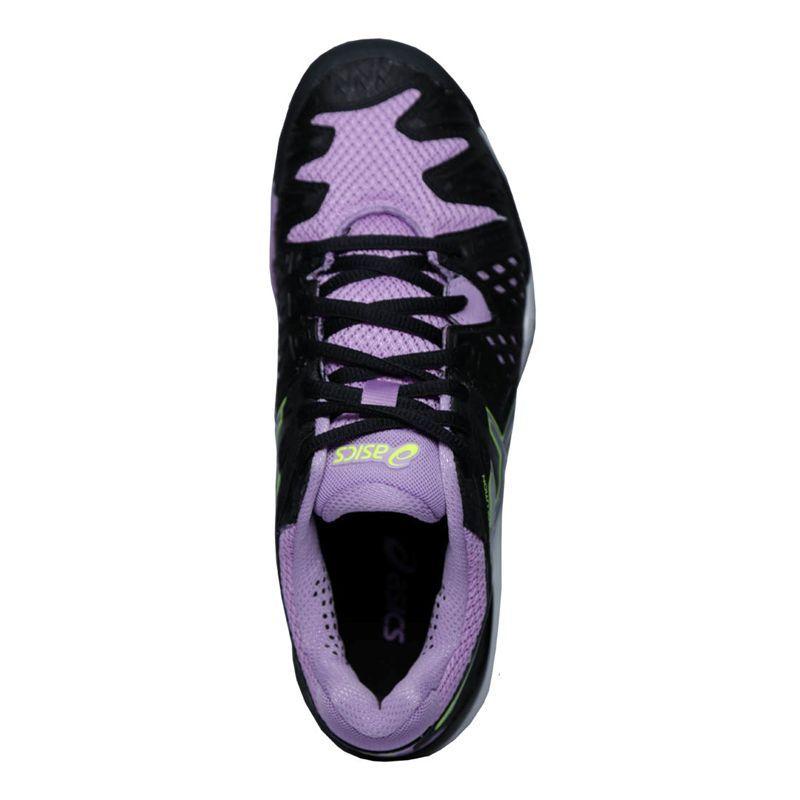 asics gel resolution 6 womens tennis shoe e550y 9093