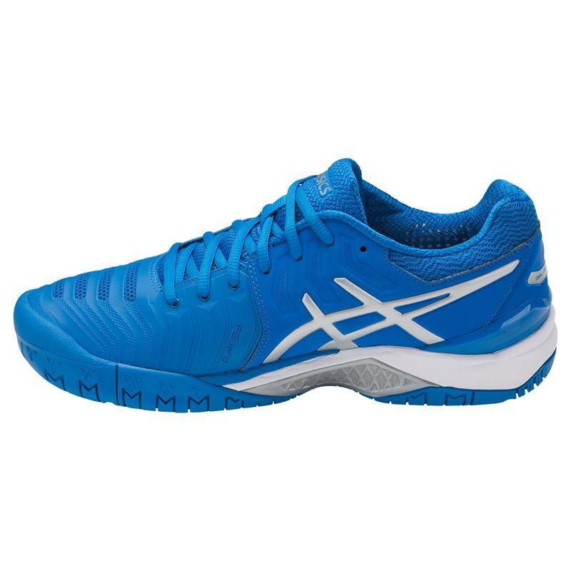 asics gel resolution 7 mens tennis shoe e701y 4393