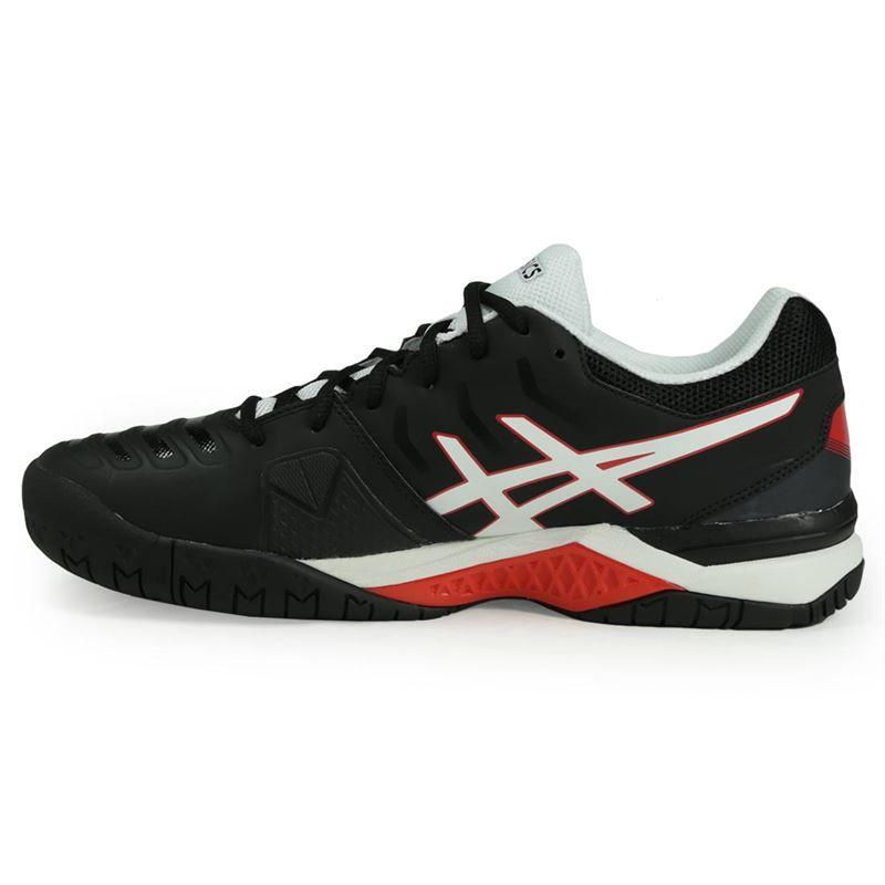 asics gel challenger 11 mens tennis shoe black e703y 9001
