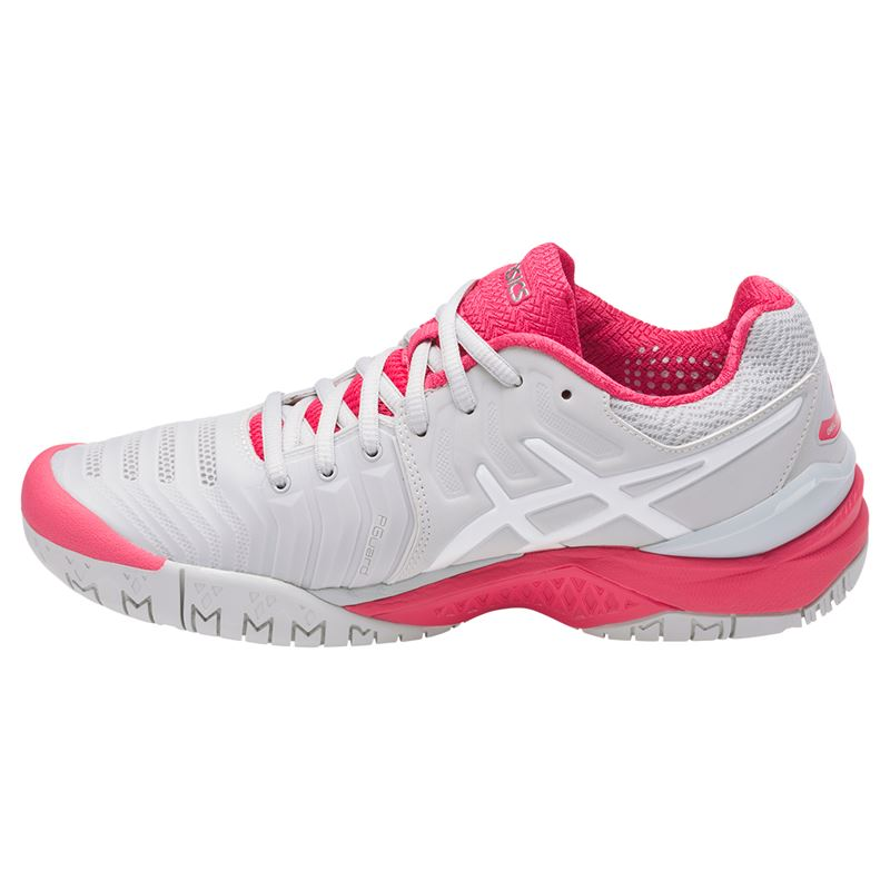 asics gel resolution 7 womens tennis shoe e751y 9601