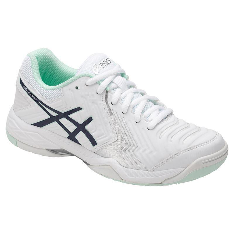 asics gel 6 womens tennis shoe e755y 0149