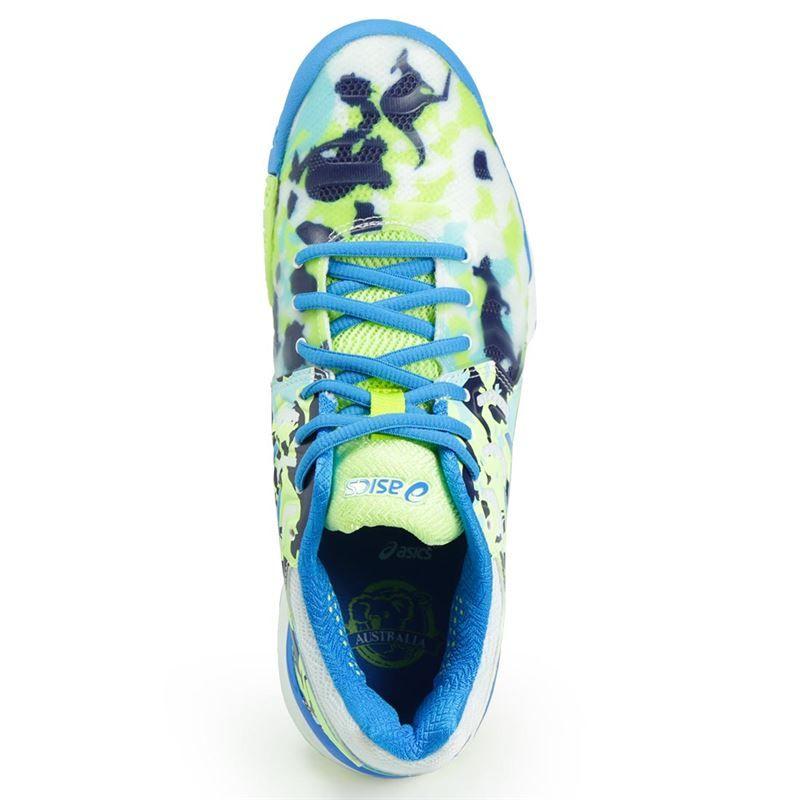 asics gel resolution 7 melbourne womens tennis shoe e760y