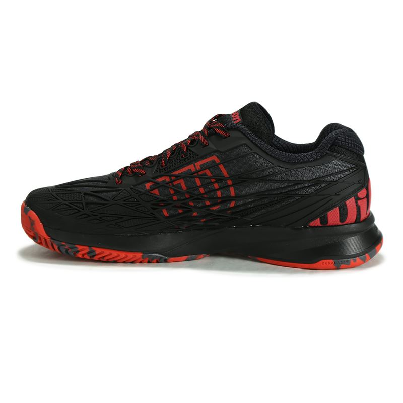 wilson kaos mens tennis shoe black wilson wrs321460